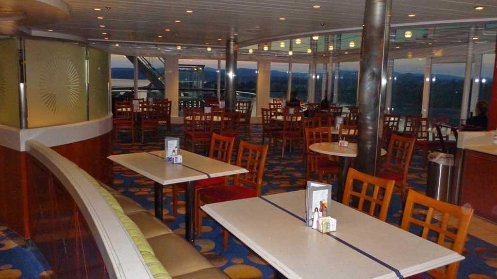 oceanview cafe celebrity infinity 210