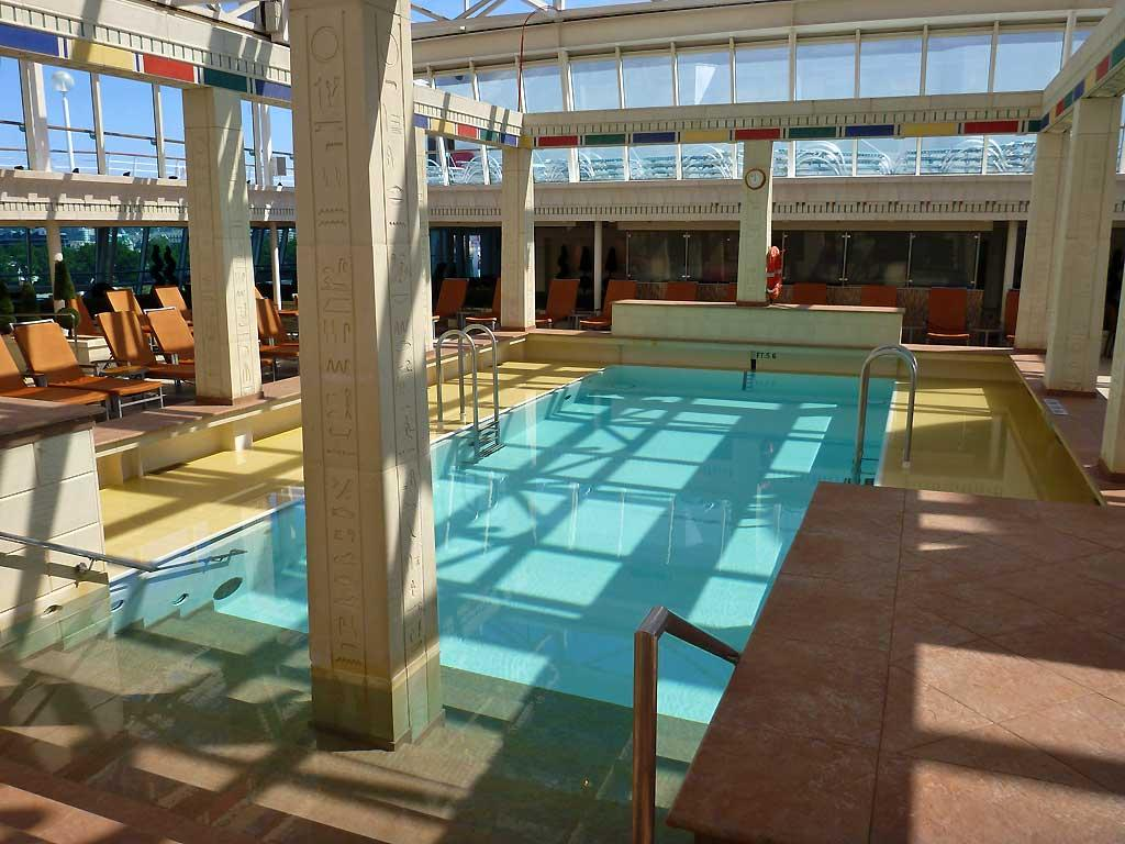 Solarium Pool With Retractable Roof, Rhapsody Of The Seas