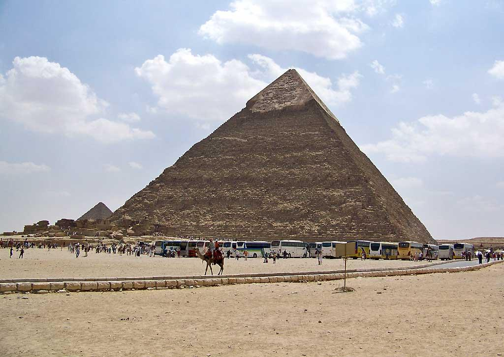 Great Pyramid of Gizeh, Cairo
