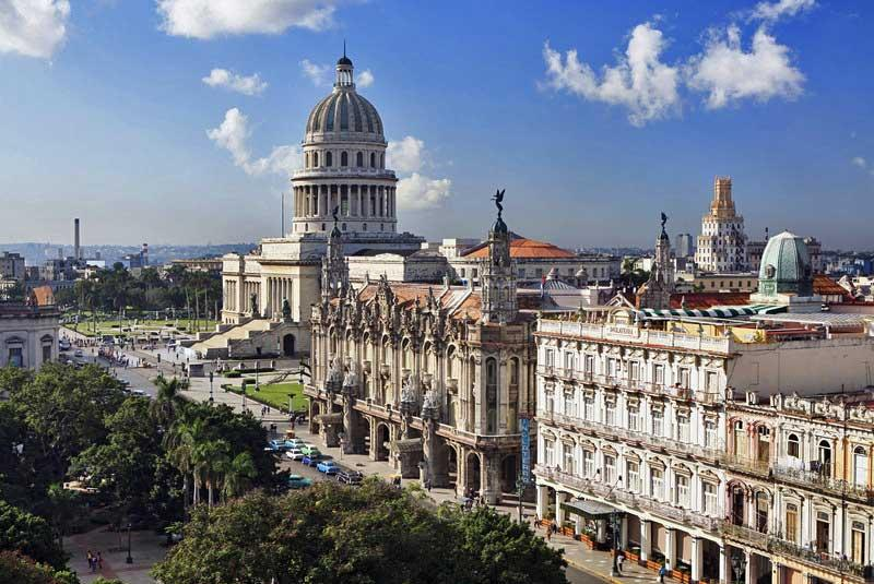 Capitolio and Grand Theater of Havana, Cuba