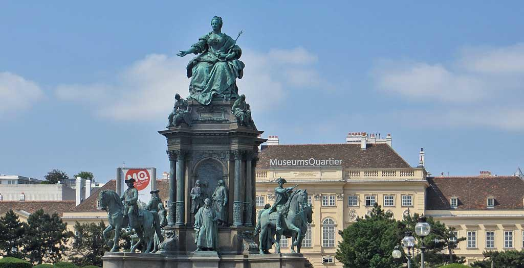 Maria Theresa Square, Vienna