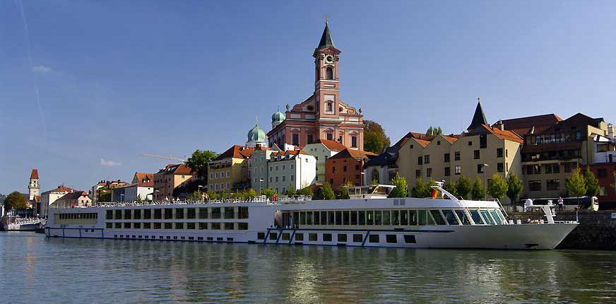 St Paul Church on the Danube, Passau