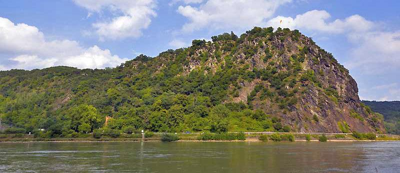 Loreley Rock on the Upper Middle Rhine, Germany