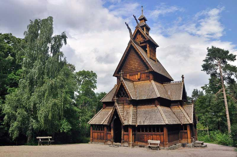 Gol Stave Church, Norsk Folkemuseum, Oslo