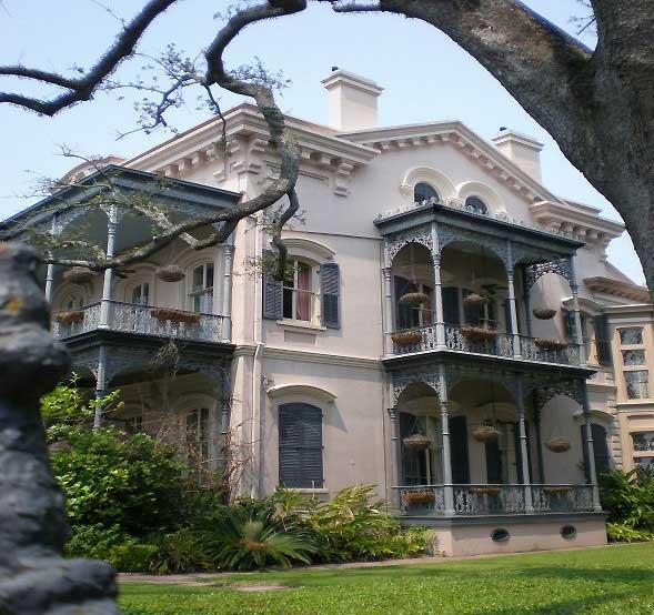 Garden District Homes, New Orleans