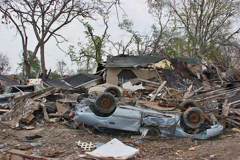 Hurricane Katrina 2005 aftermath, New Orleans