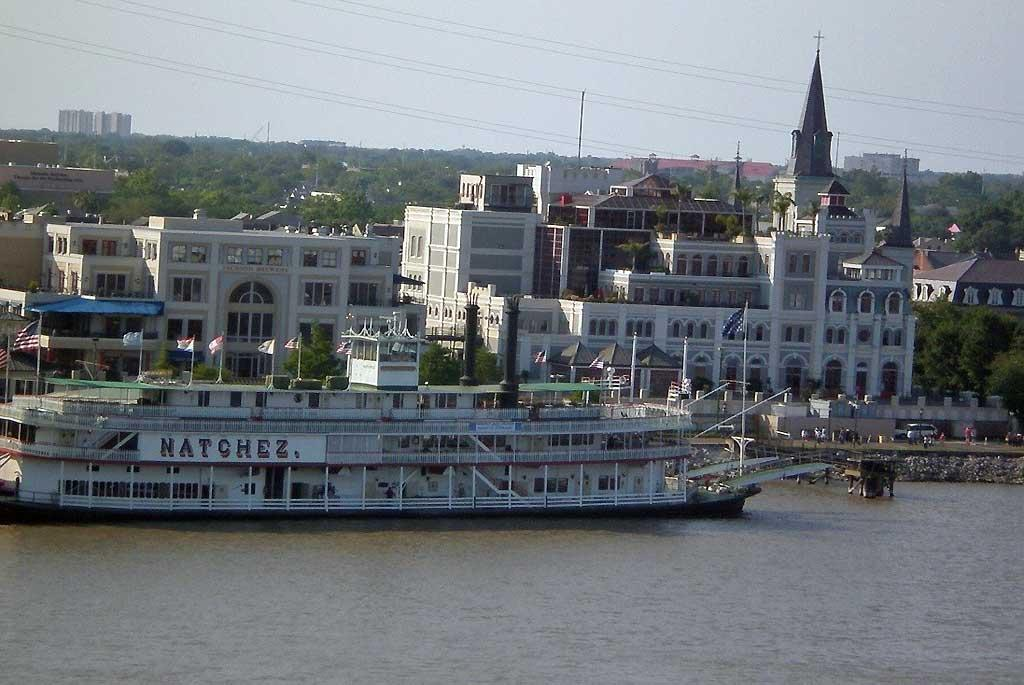 Steamboat Natchez, Mississippi R,New Orleans
