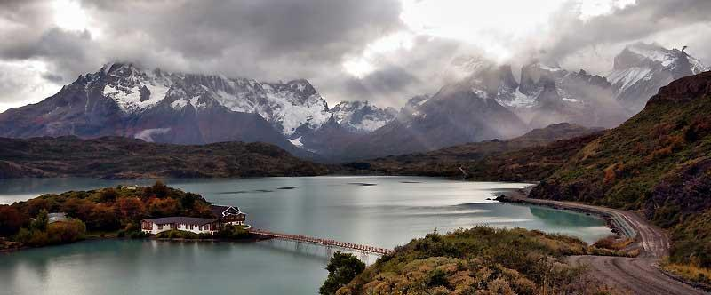 Hosteria Pehoe, Lake Pehoe, Torres del Paine, Chile